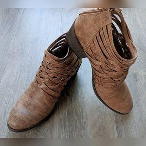 Fergalicious   brown booties   9